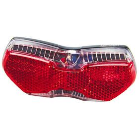 Busch + Müller Toplight View E Oświetlenie dla roweru elektrycznego czerwony/czarny